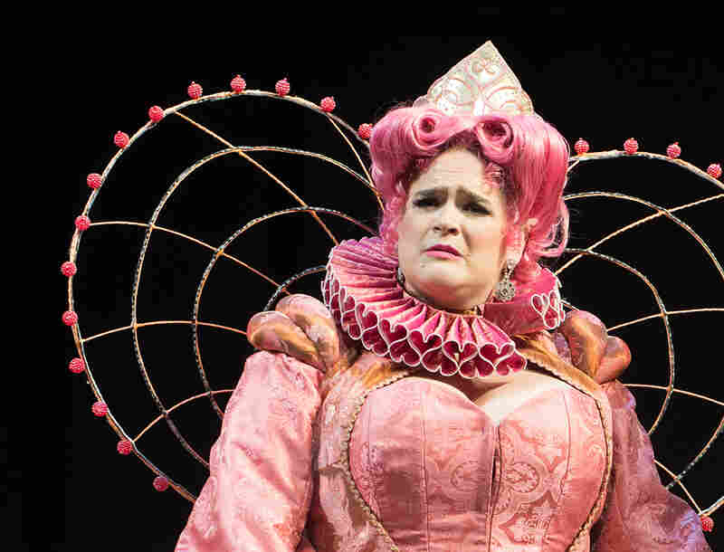 Bonnie Milligan stars as Pamela in the Oregon Shakespeare Festival's production of Head Over Heels.