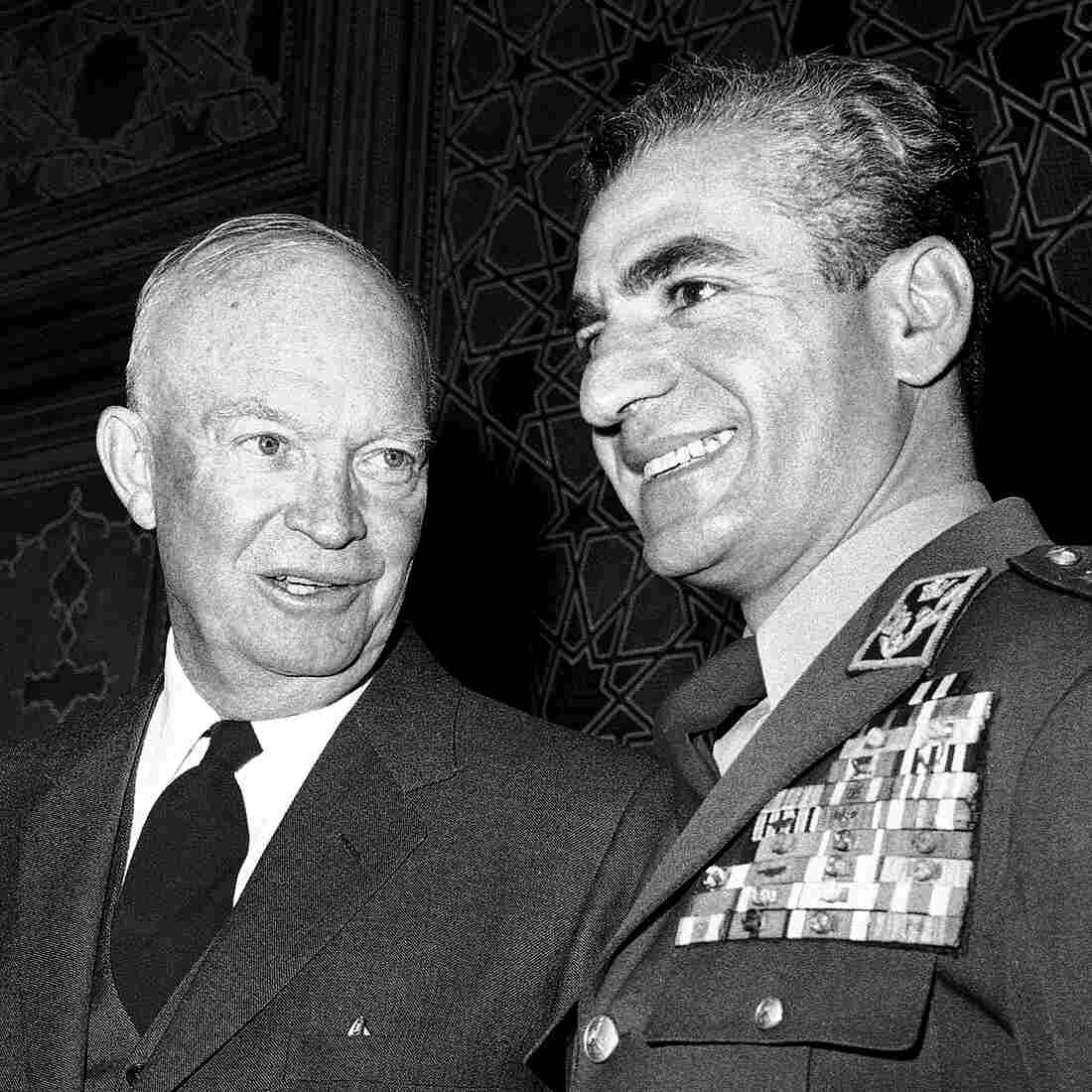 President Eisenhower (left) visited Iran's Shah Reza Pahlavi in Tehran in 1959. The U.S. had begun working with Iran to launch its nuclear program two years earlier and would provide Iran with its first nuclear research reactor in the 1960s, at Tehran University.