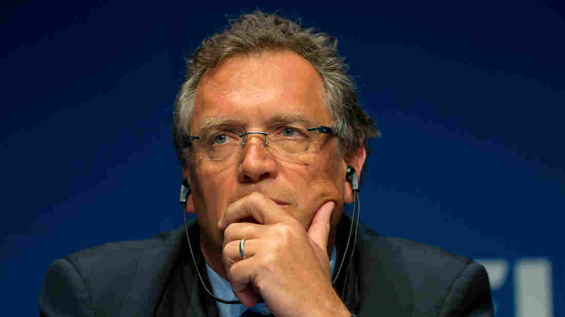 FIFA Secretary General Jerome Valcke, already accused of involvement in a $10 million bribe to help South Africa win the 2010 World Cup bid, has been suspended by FIFA after allegations were made that he was involved in a scheme to profit from the sale of World Cup tickets.