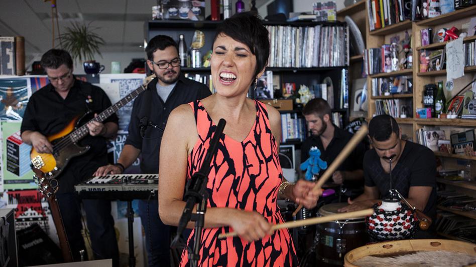 Tiny Desk Concert with Gina Chavez (Lydia Thompson/NPR)
