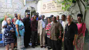 African-American evangelical leaders visited a Jerusalem crafts workshop for elderly Israelis, a project supported by the International Fellowship of Christians and Jews. The group and Israel's tourism ministry sponsored the pastors' trip to Israel, part of the Fellowship's new outreach effort to African-American congregations.