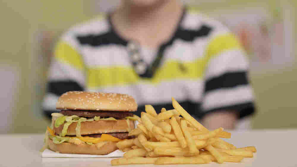 About A Third Of U.S. Kids And Teens Ate Fast Food Today