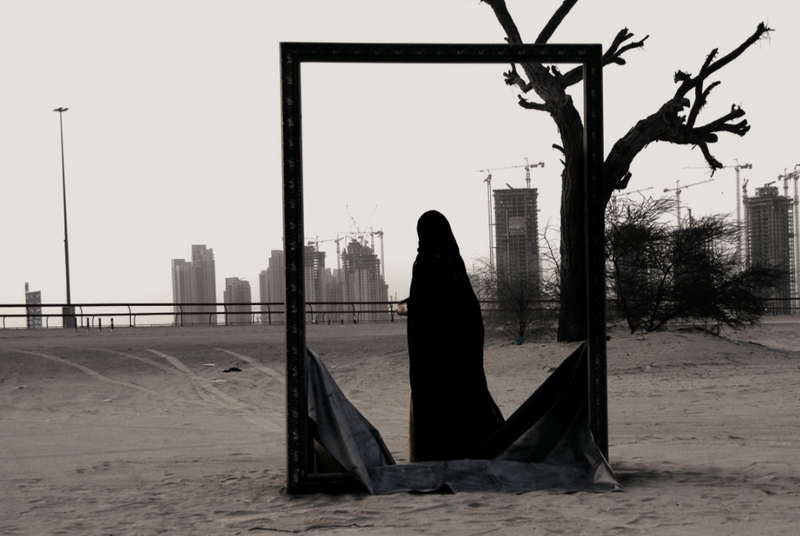 Frame 6, 2006, by Reem Al Ghaith, United Arab Emirates.