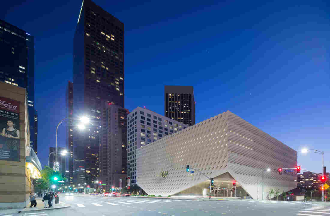 The Broad Museum, on Grand Avenue in downtown Los Angeles, opens Sunday. Admission is free.