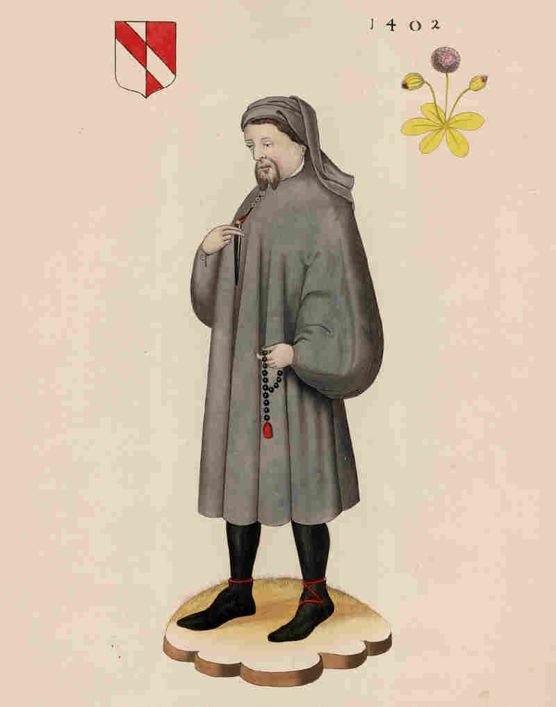 Geoffrey Chaucer, best known for his work the Canterbury Tales.