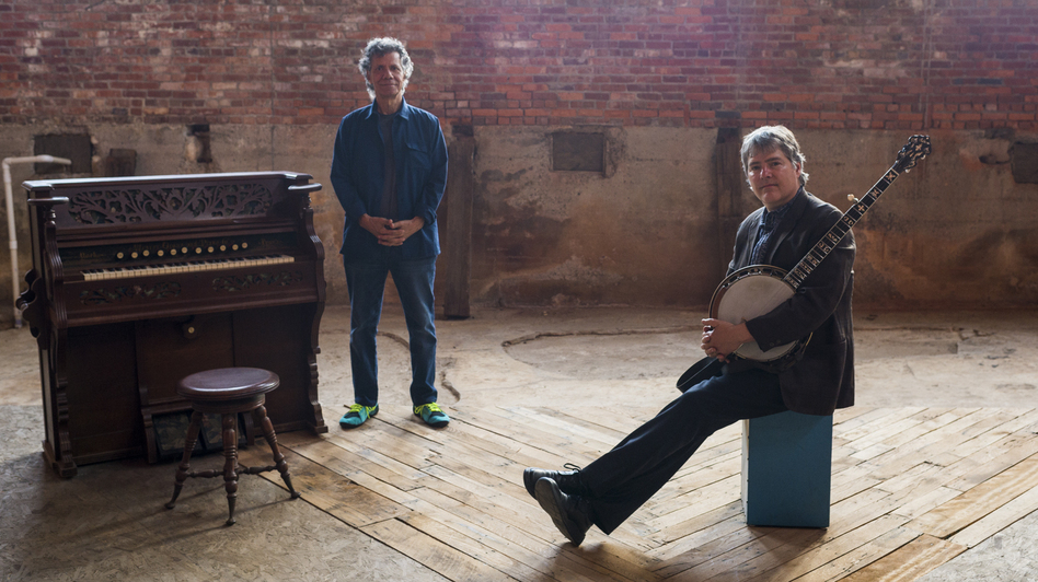 Chick Corea and Bela Fleck's new album, Two, is out now. (Courtesy of the artist)