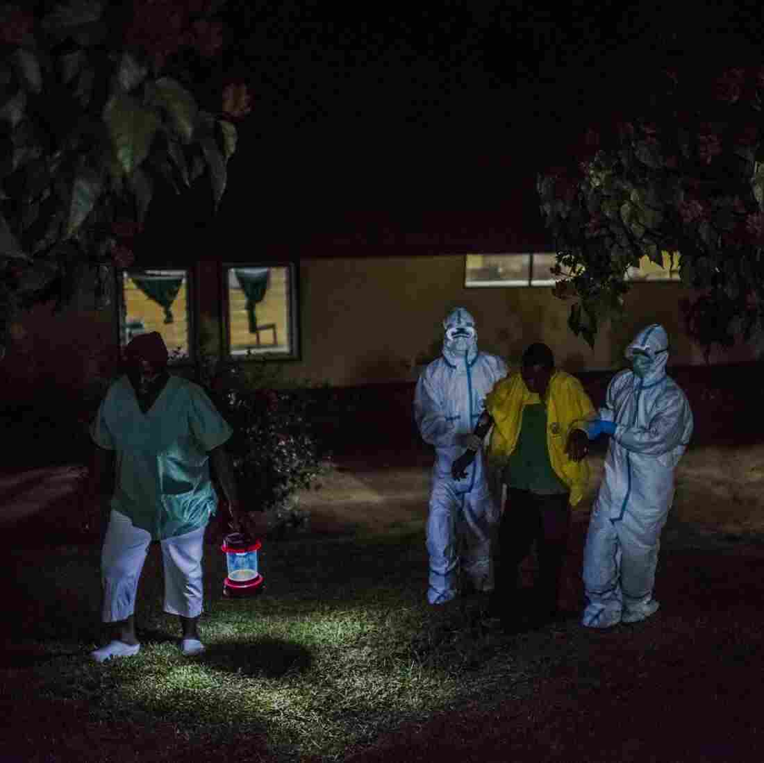 Doctors Without Borders Has Mixed Feelings About Award For Ebola Work