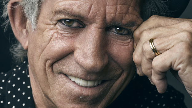 Keith Richards. (Courtesy of the artist)
