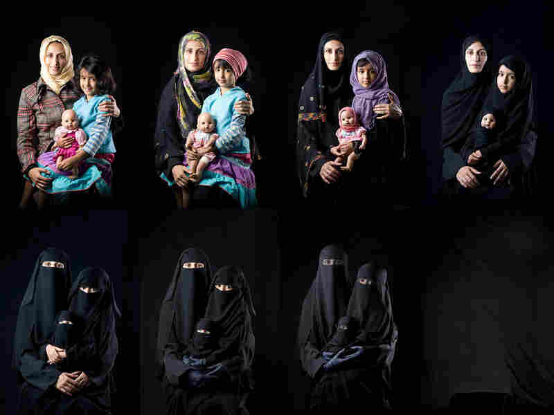 "Sultan Sooud Al-Qassemi says, ""I don't buy artworks that I think are pretty ... I buy art that is politically meaningful."" That art includes Yemeni photographer Boushra Al Mutawakel's Mother, Daughter, Doll series."