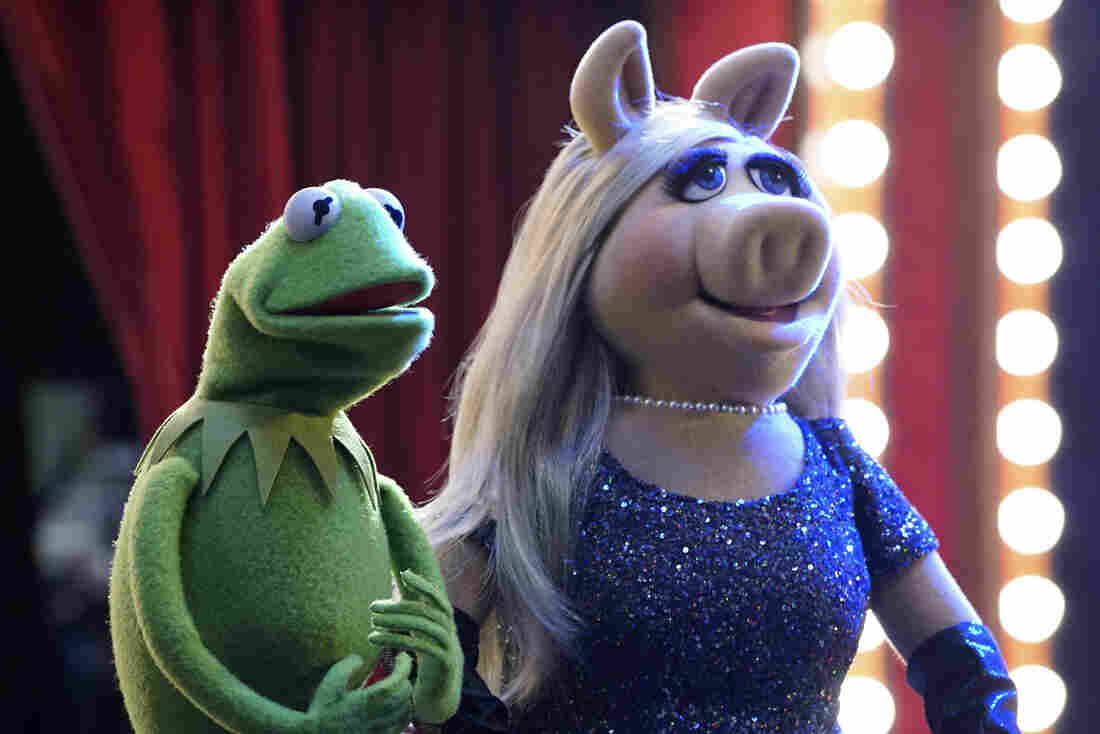 ABC's The Muppets is a faux-documentary about the making of the late night talk show Up Late with Miss Piggy.
