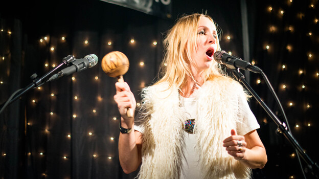 The Mynabirds perform live in the KEXP studio. (KEXP)