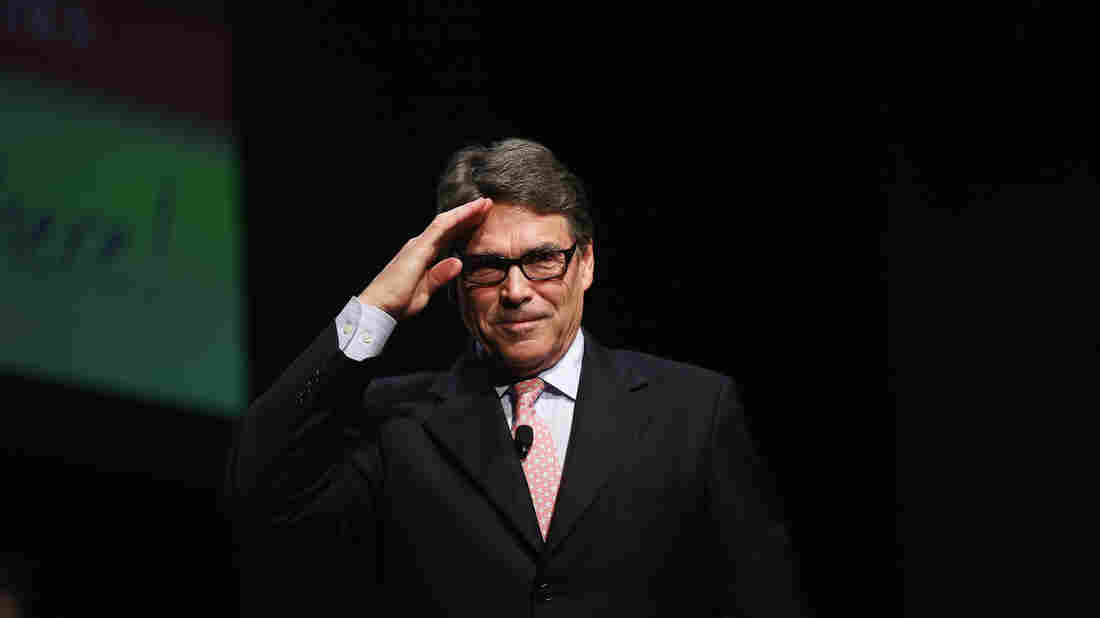Rick Perry ended his presidential campaign Sept. 11, but there was $13 million left in the bank of a superPAC supporting him. The superPAC says it's given donors their money back.