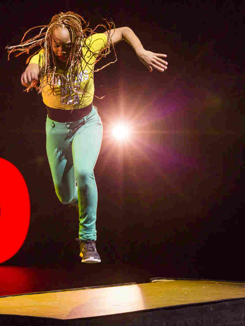 Camille Brown performs a solo from Black Girl: Linguistic Play at a 2015 TED talk.