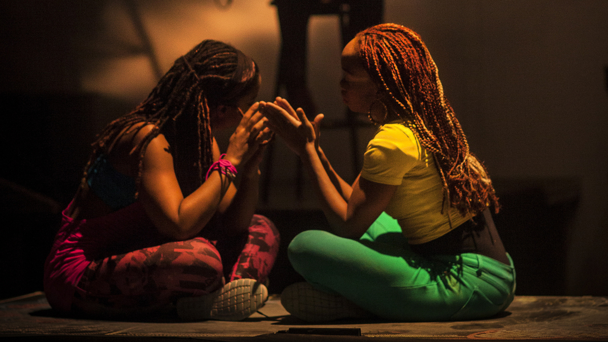 the message embedded in black girl linguistic play a play by camille brown dancers Black girl: linguistic play reveals the complexity of carving out a  language  that black girls have through double dutch, social dances,.