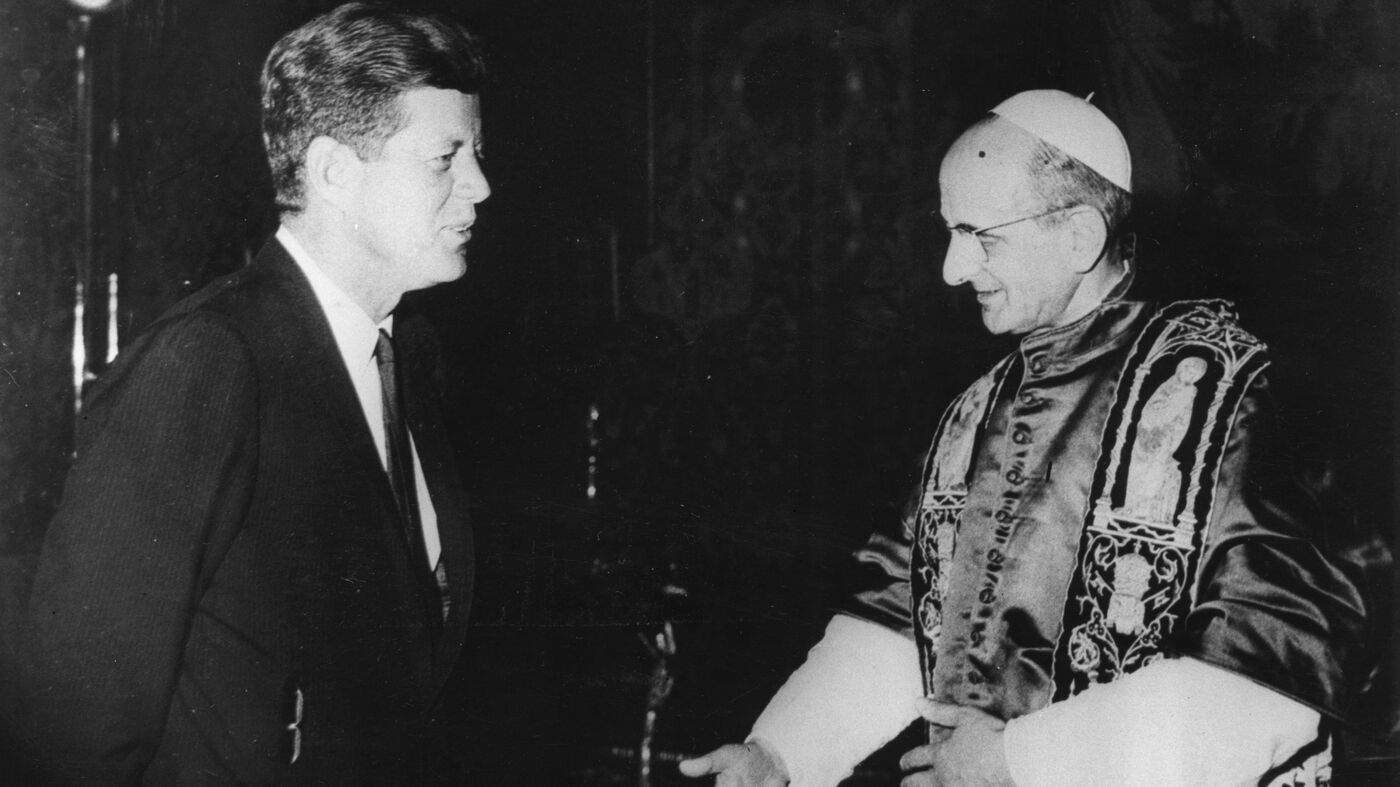 The Complicated History Of Popes And Us Presidents Its All