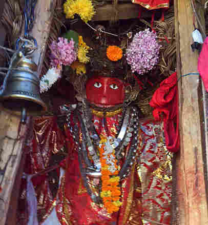 The Red God is both a Hindu and a Buddhist deity.