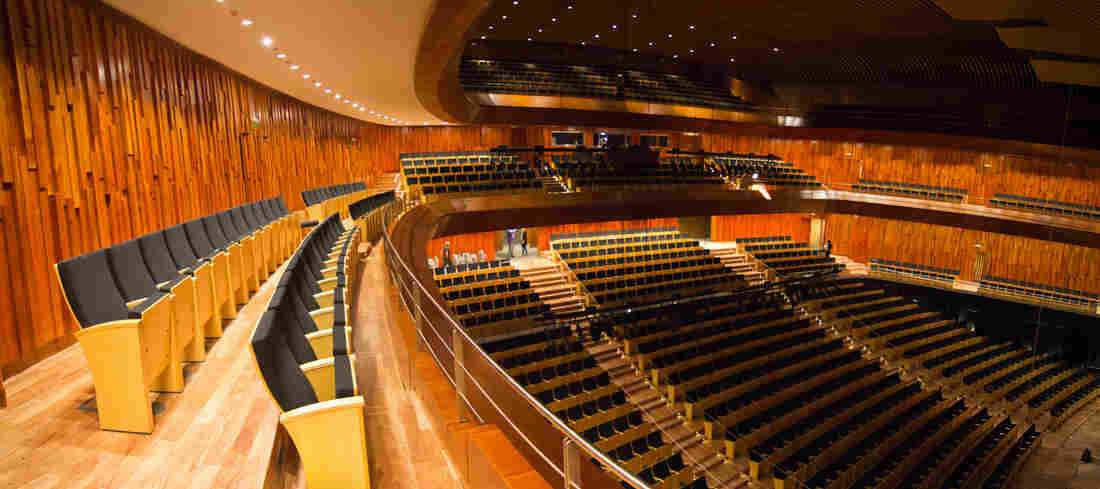 "The ""Blue Whale"" auditorium can hold 1,750 people."