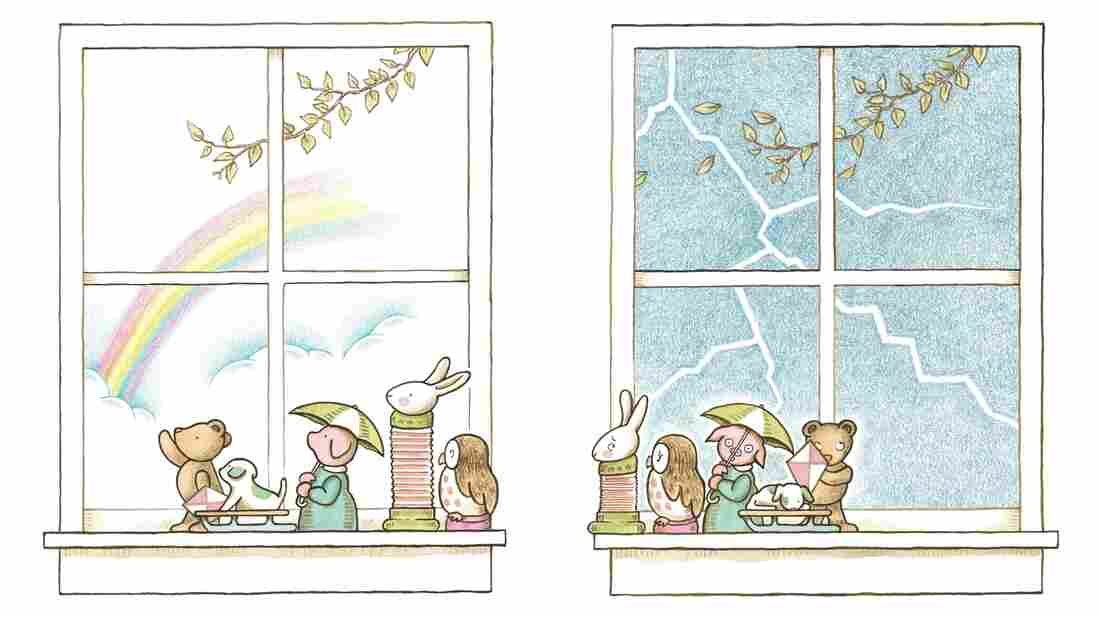 """In Kevin Henkes' new picture book, all of the figurines on the windowsill are waiting for something. """"It's really about the concept of waiting,"""" he says."""