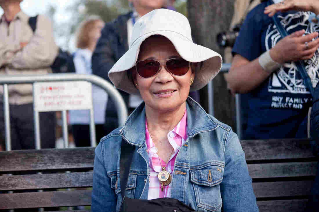 Natti Dascutan, 70: Fillipino-American living in the District of Columbia.