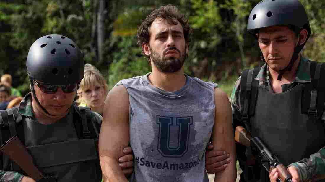 Eli Roth's latest torture flick takes down young activists who crash into the Amazon jungle.