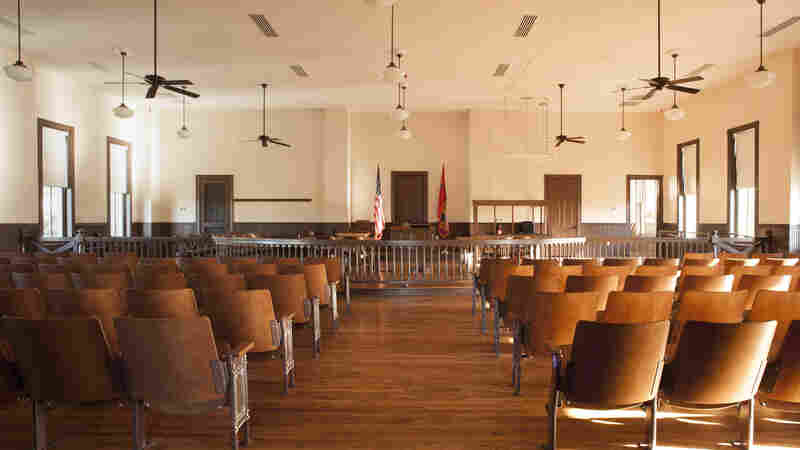 The courtroom in Sumner, Miss., where, in 1955, an all-white jury acquitted two white men in the murder of Emmett Till, a 14-year old black boy.