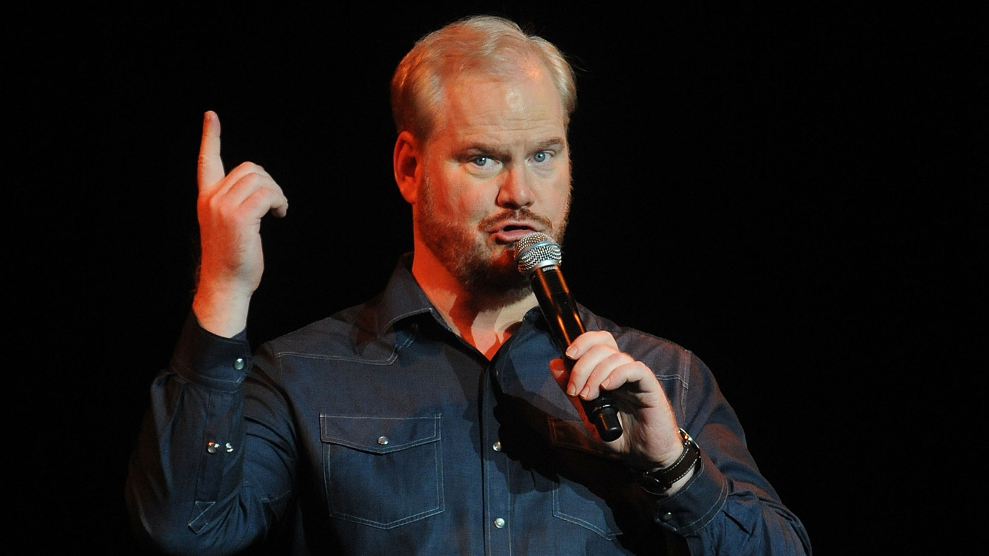 Comic Jim Gaffigan On Stand Up Faith And Opening For The Pope Npr