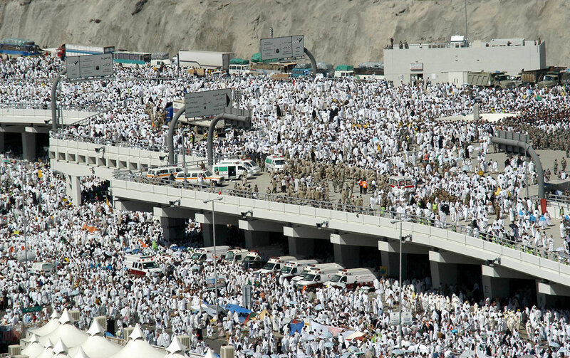 stampede at hajj pilgrimage near mecca kills hundreds the two way