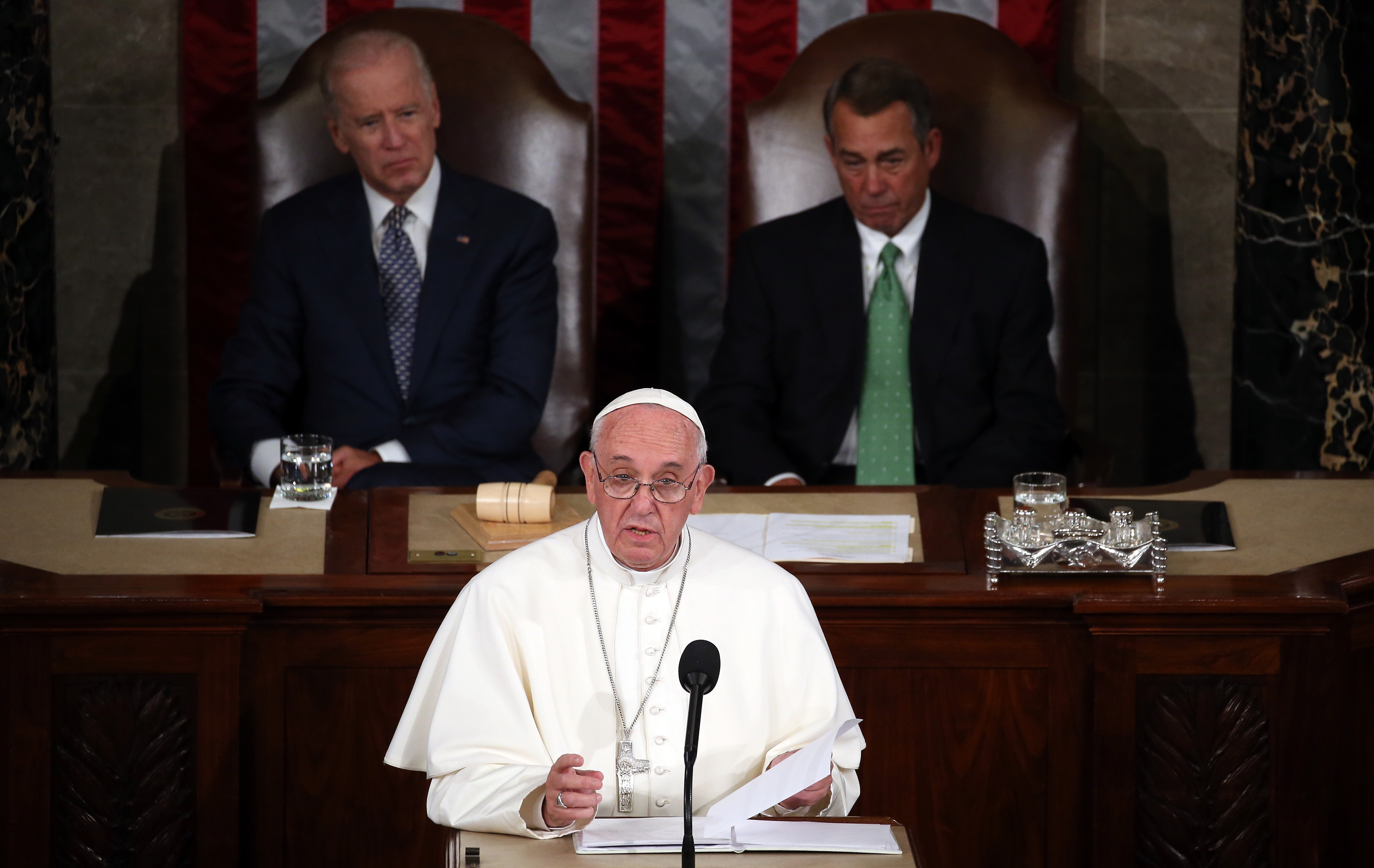 The 10 Most Political Moments In Pope Francis' Address To Congress