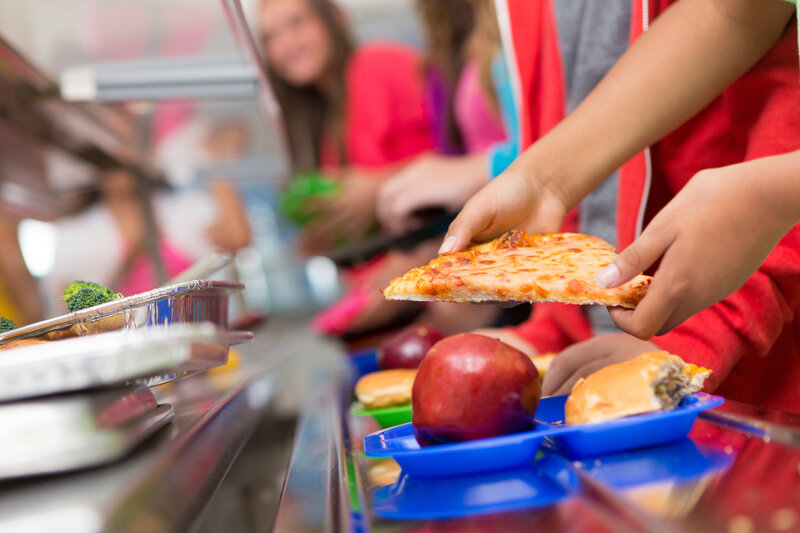 Kids Who Are Time Crunched At School Lunch Toss More And Eat Less The Salt NPR