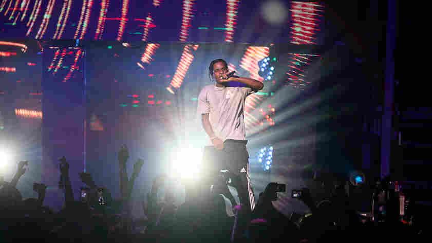 A$AP Rocky closes the show with a raucous set.