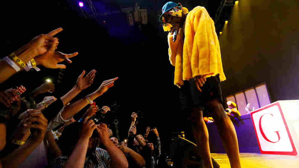 Tyler, the Creator took fans through a range of emotions during his set.
