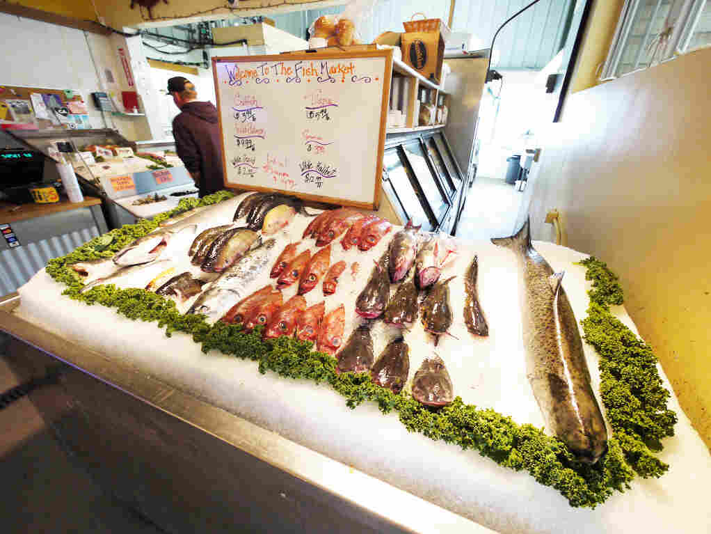 Some 15 percent of the seafood that's wasted in the U.S. is lost en route from sea to consumer, often because it spoils or is discarded as scraps.
