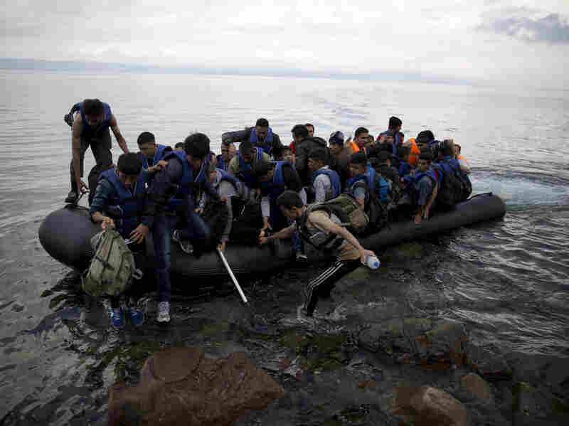 Afghan refugees arrived this week on the Greek island of Lesbos after crossing the Aegean Sea in an inflatable dinghy from Turkey. Afghans are the second-largest group of refugees in Europe, after Syrians, and have been fleeing their country for more than 30 years.