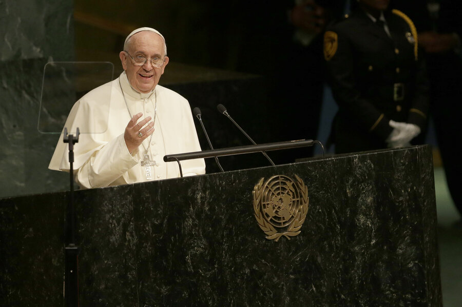 Tough Words From Pope Francis: 8 Great Quotes From His U.N. Speech ...