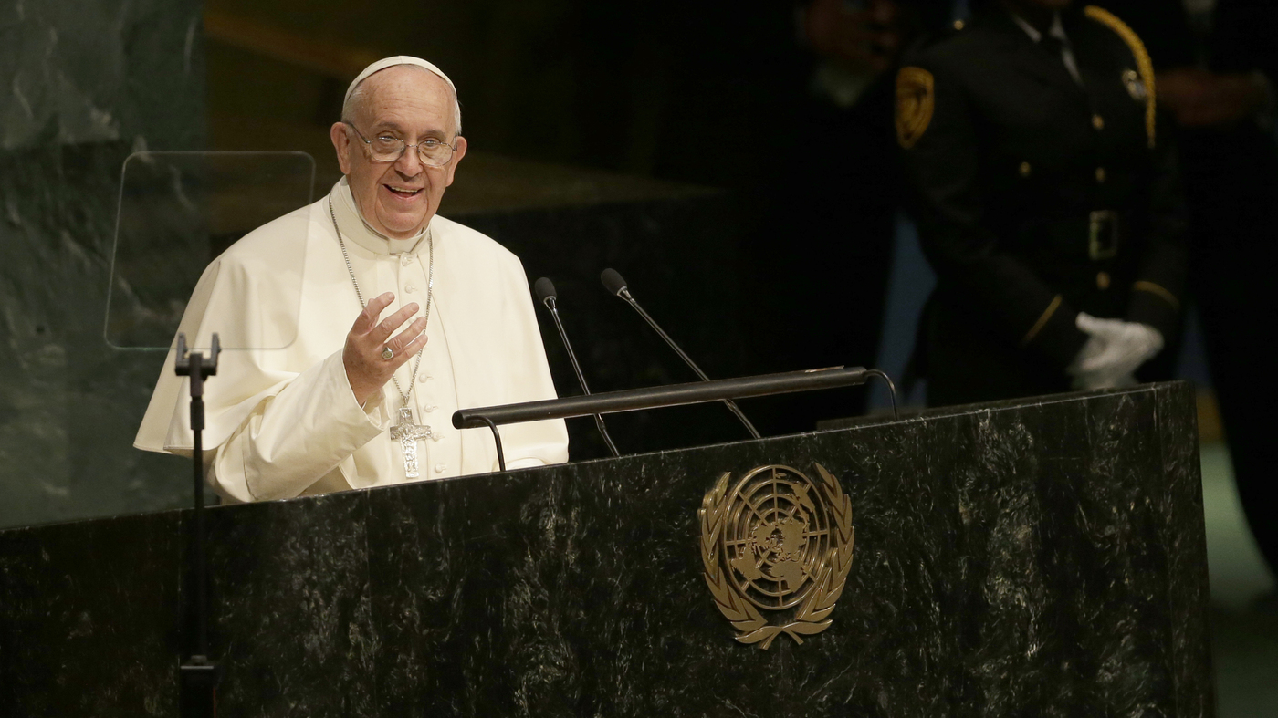 Tough Words From Pope Francis: 8 Great Quotes From His U.N. Speech