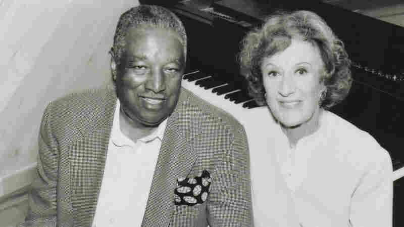 Ray Brown with Marian McPartland.