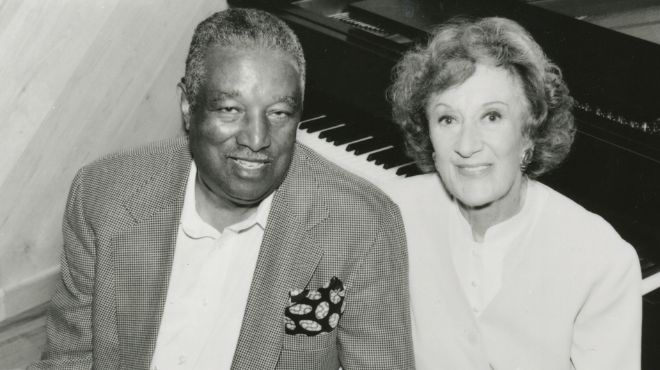 Ray Brown with Marian McPartland.