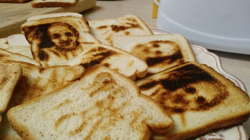 see the pope on a slice of toast it s perfectly normal really