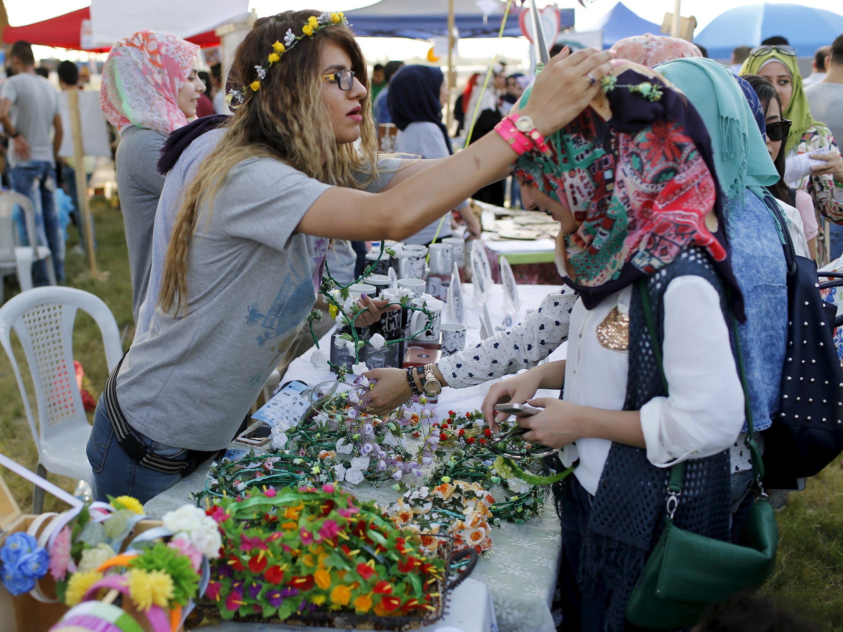 In Bomb-Weary Baghdad, Iraqis Have Fun In The Name Of Peace