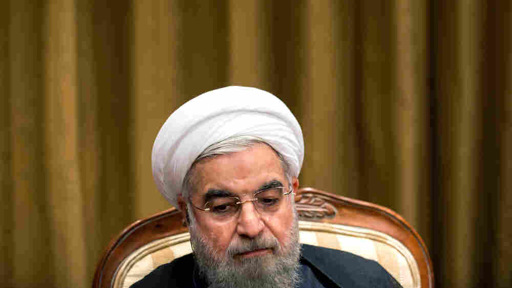 Iran's President: 'Driving Out The Terrorists' Is Key To Syria's Future