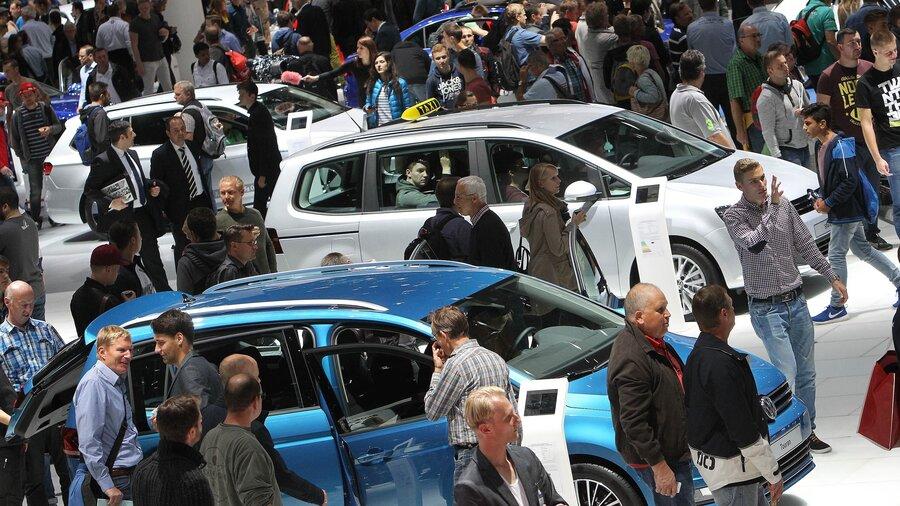 Vw Emissions Scandal Hovers Over German Car Show Npr