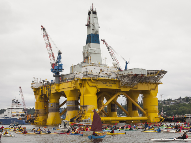 Shell Oil Abandons Controversial Drilling Off Alaska S