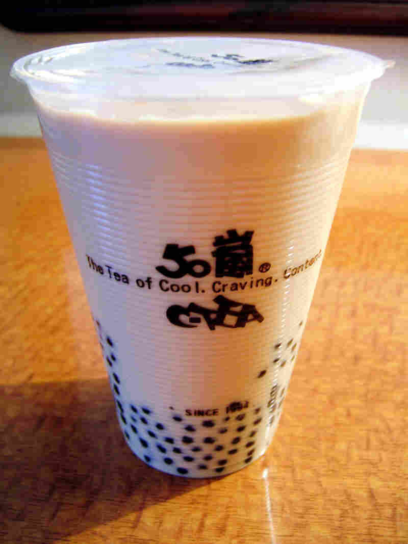Bubble tea is a popular sweet tea drink that originated in Taiwan.