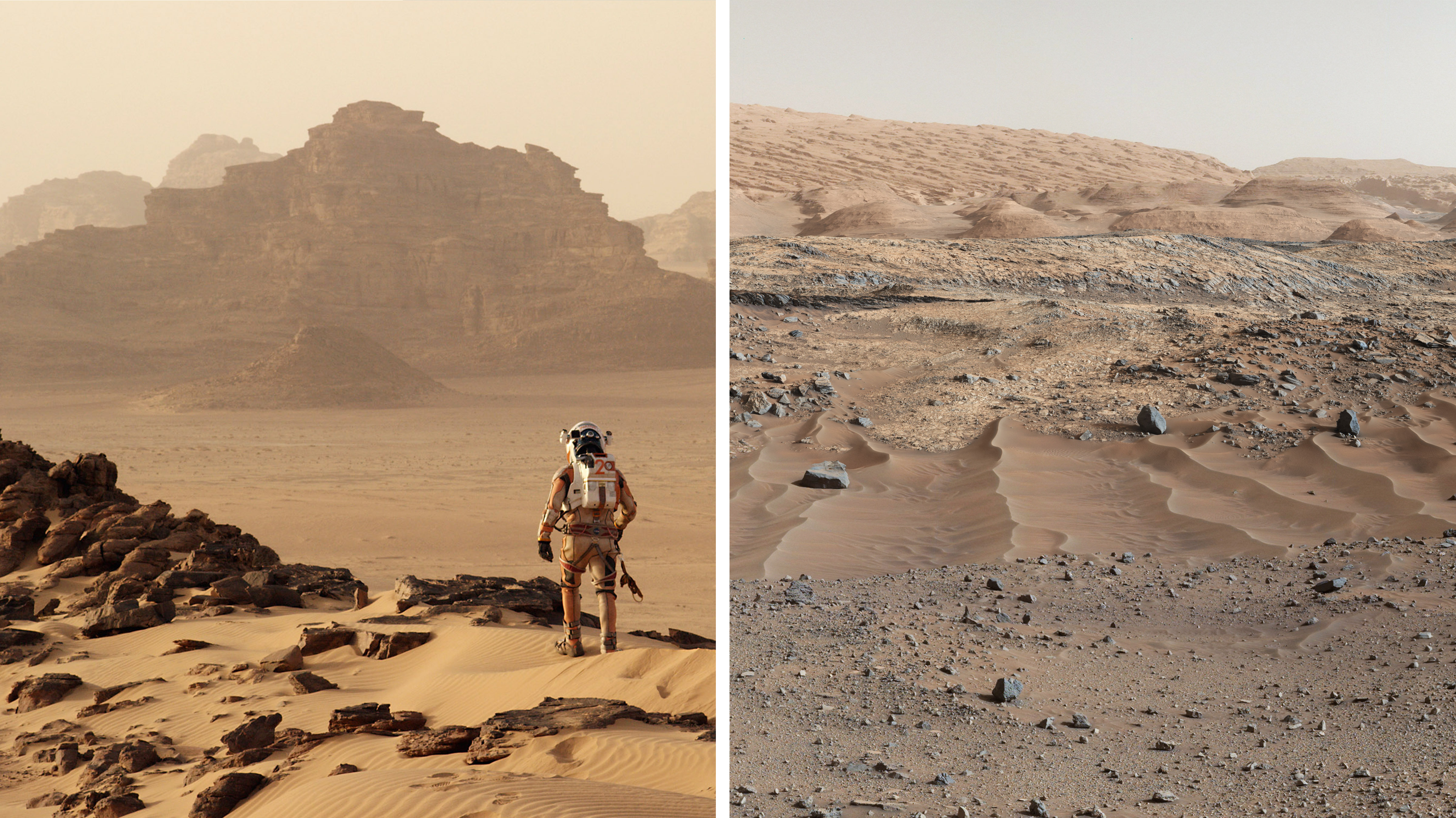 How 'The Martian' Became A Science Love Story