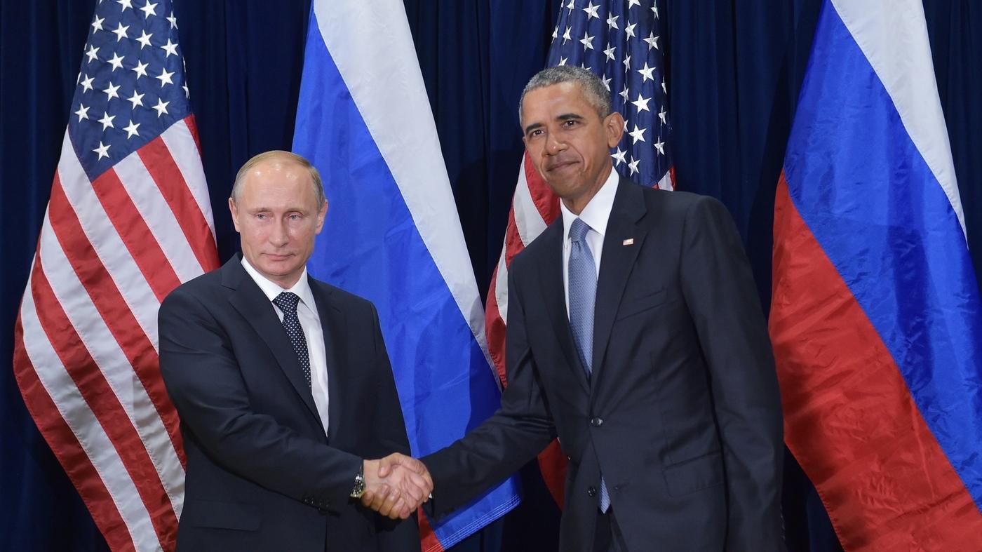 Putin Obama Meet On Syria But Sharp Disagreements Remain Parallels Npr