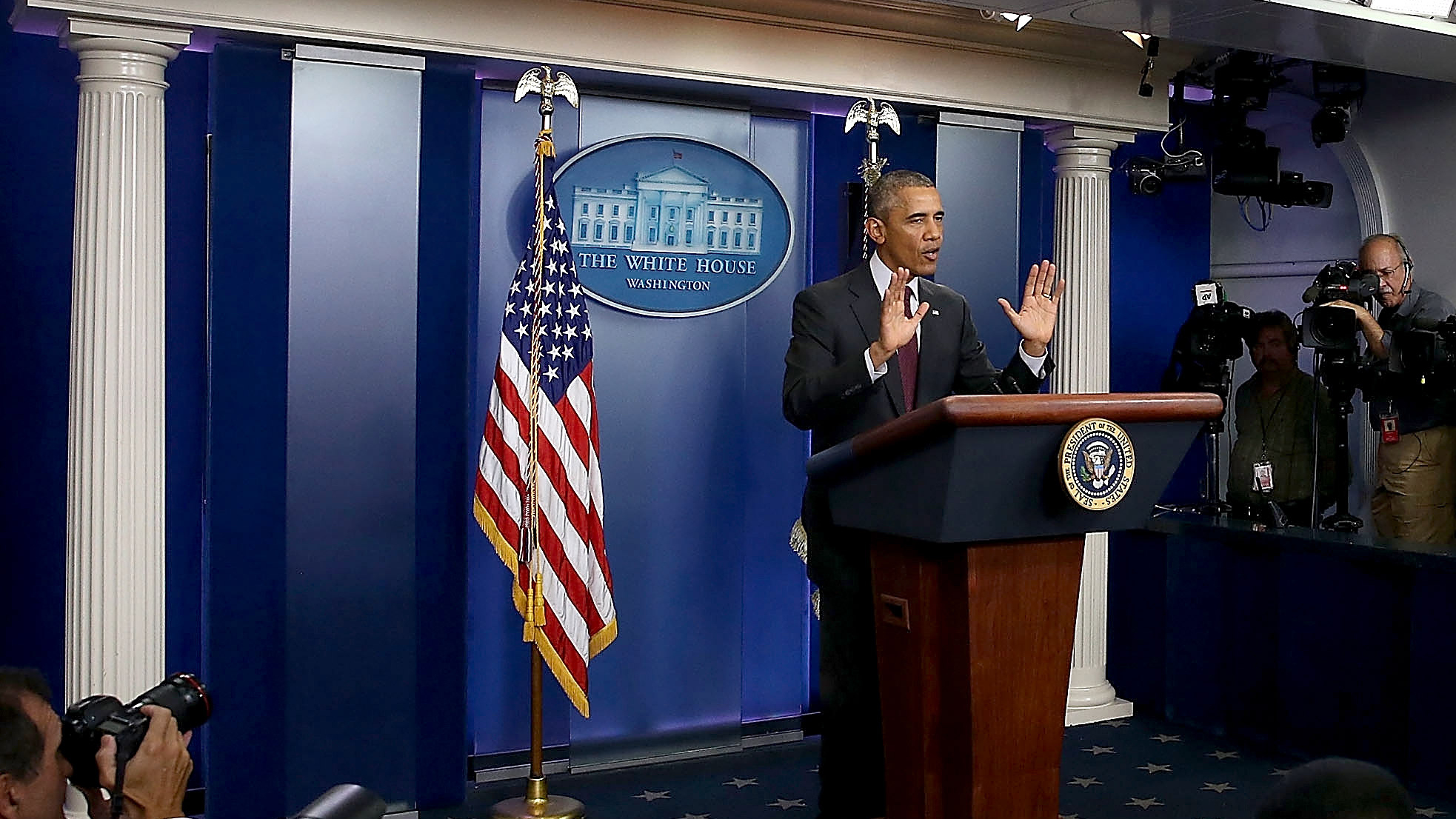 In 7 Clips, Listen To President Obama Plead For Stricter Gun Laws
