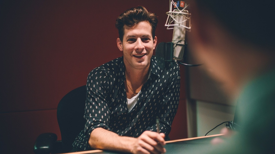 Mark Ronson at NPR's New York office. (NPR)