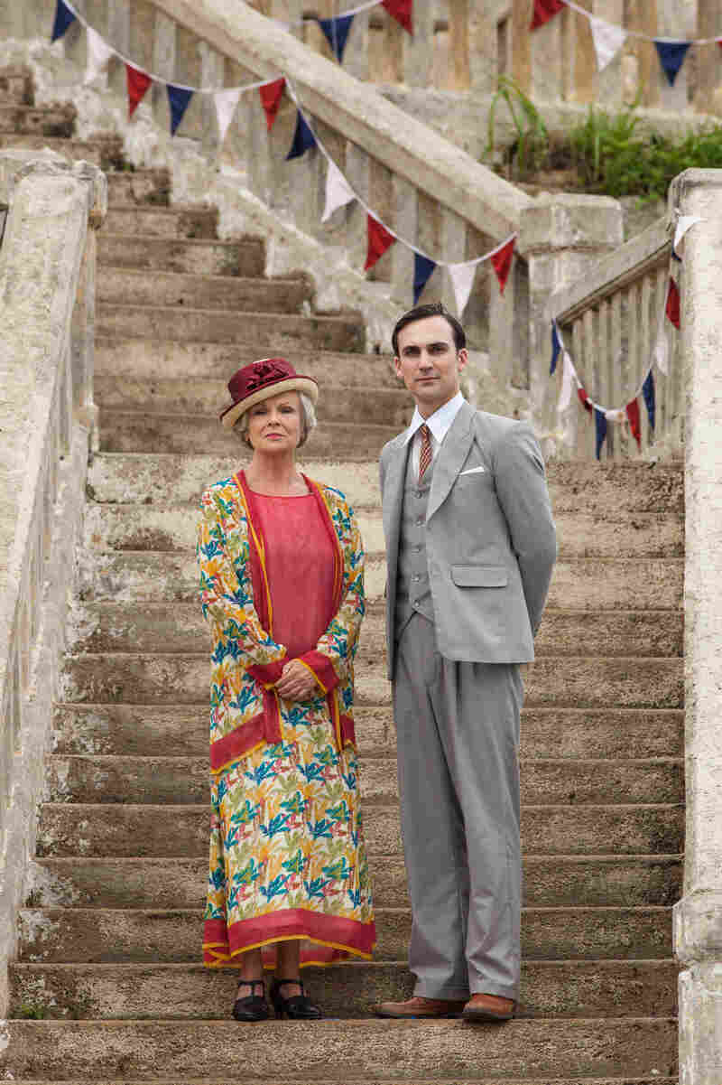 Julie Walters stars Cynthia Coffin, the doyenne of a British social club in Indian Summers. Henry Lloyd-Hughes plays Ralph Whelan, Private Secretary to the Viceroy of India.