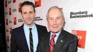 Josh Tyrangiel, who resigned this week, and Michael Bloomberg attend Bloomberg Businessweek's 85th Anniversary Celebration in 2014.