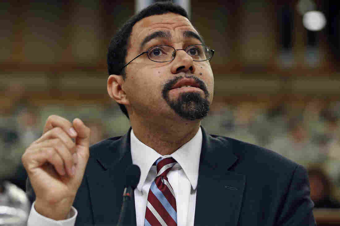 President Obama has selected Deputy Education Secretary John B. King Jr. to replace Arne Duncan. King is a former New York state education commissioner.